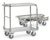 Wózki składane - aluminiowe