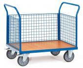 Wózek - 3 ścianki druciane
