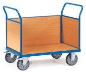 Wózek - 3 ścianki drewniane