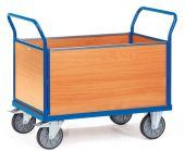 Wózek - 4 ścianki drewniane