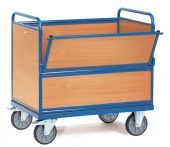 Wózek - ścianki drewniane