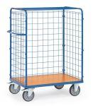 Wózek do paczek - ścianki z drutu stalowego